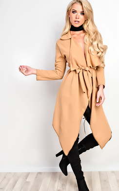 View the Yasmina Waterfall Coat online at iKrush