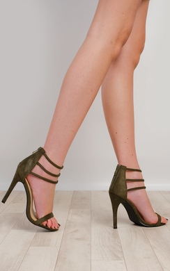 View the Darci Strappy High Heels online at iKrush