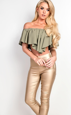View the Kallie Off Shoulder Top online at iKrush