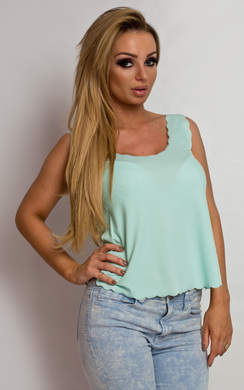 View the Inaya Scalloped Vest online at iKrush