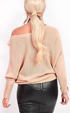 View the Alena Knitted Batwing Jumper online at iKrush