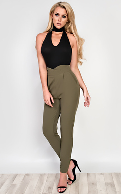 View the Margot Tailored Trousers online at iKrush