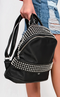 View the Calli Studded Rucksack online at iKrush
