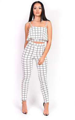 View the Helly Check Frill Co-ord online at iKrush
