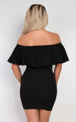 View the Cassidy Off Shoulder Bodysuit online at iKrush