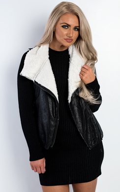 View the Robella Faux Fur Gilet Jacket online at iKrush