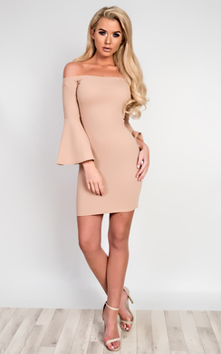View the Gwen Off Shoulder Bodycon Dress online at iKrush