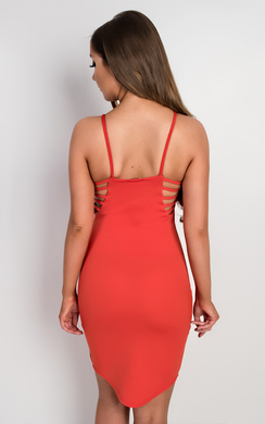 View the Jessebell Strappy Bodycon Dress online at iKrush