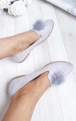 View the Kezza Pom Pom Pumps online at iKrush