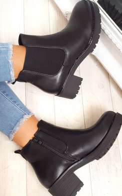 View the Amra Chunky Ankle Boots online at iKrush