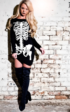 View the Skeleton Fancy Dress  online at iKrush