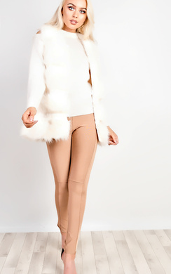 View the Orla Faux Fur Gilet  online at iKrush