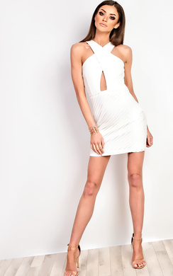 View the Jess Lace Bodycon Dress online at iKrush
