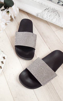 View the Silia Diamante Sliders online at iKrush