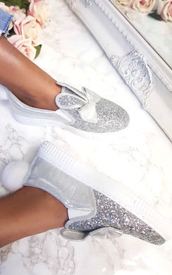 View the Devlin Chunky PomPom Slip On Trainers  online at iKrush