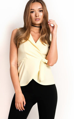 View the Emily Wrap Collared Top online at iKrush