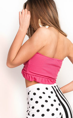 View the Flo Bandeau Crop Top online at iKrush