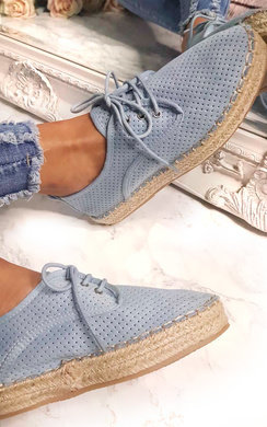 View the Jasmin Lace Up Espadrilles  online at iKrush