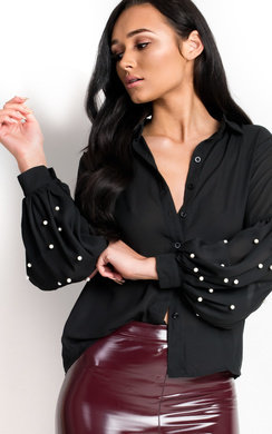 View the Katie Embellished Blouse  online at iKrush