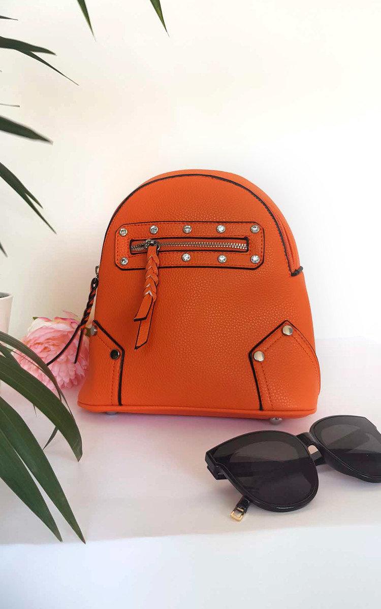 Mini imitazione donna in Size Frida pelle borsa In a tracolla 1sze Orange Ikrush 64rq6pwT