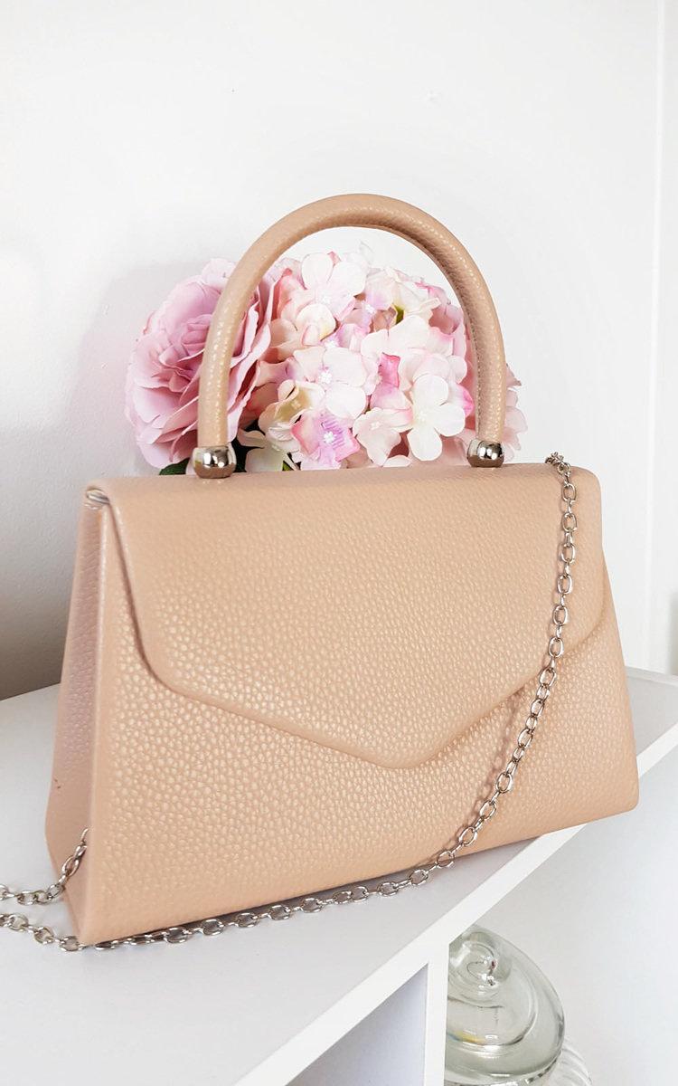 IKRUSH Womens Layla Diamante Embellished Handbag  BLACK UK 1SZE
