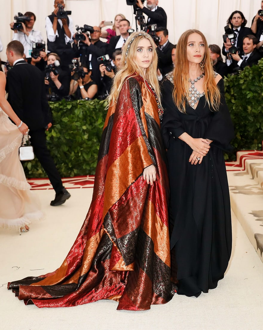 Mary Kate and Ashley Met Gala