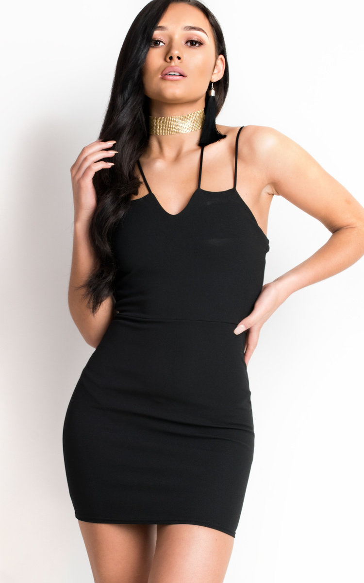 Black Dress Strappy